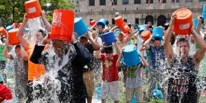 Ice Bucket Challenge criticized as wasteful during California drought.