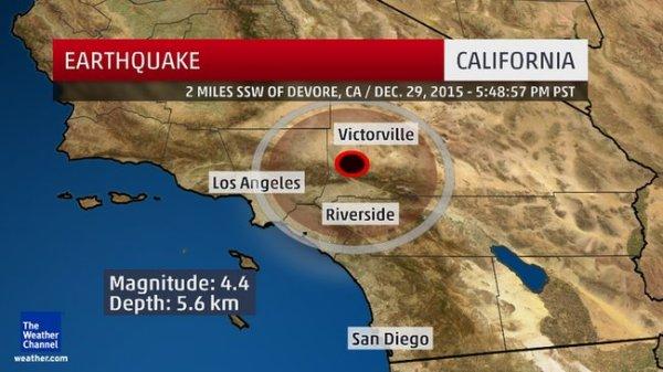 Earthquake Dec 2015