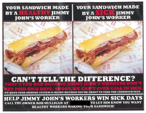 Jimmy Johns Sick Poster