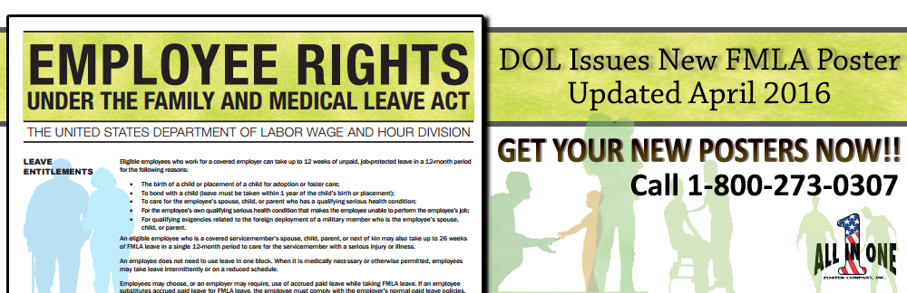 Dol Releases New Fmla Poster And Employers Guide All In One
